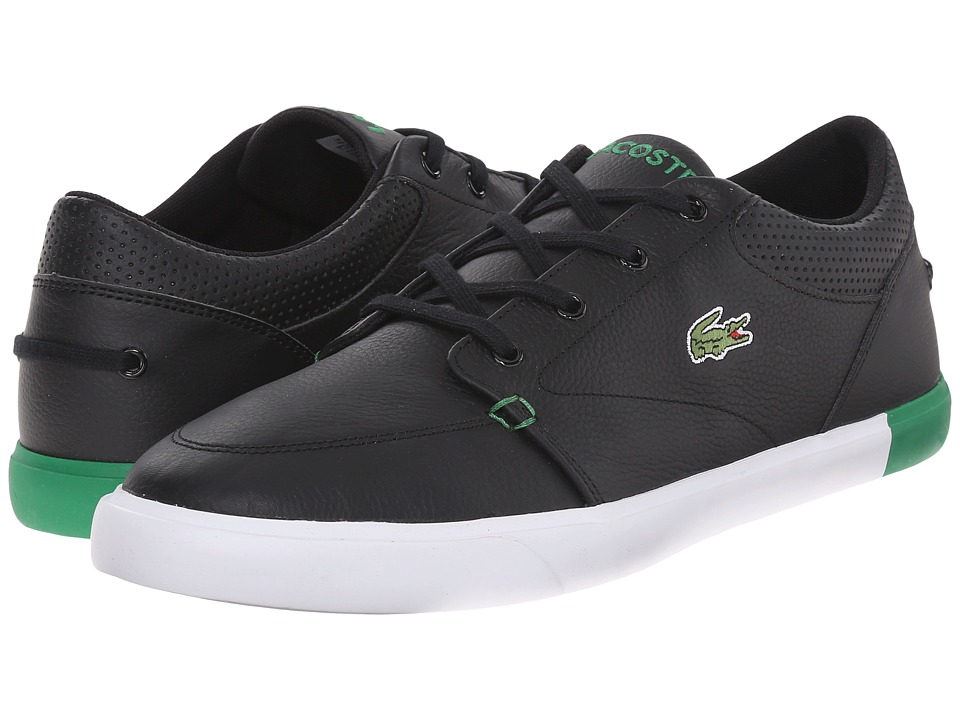 Lacoste - Bayliss 116 1 (Black/Green) Men's Shoes