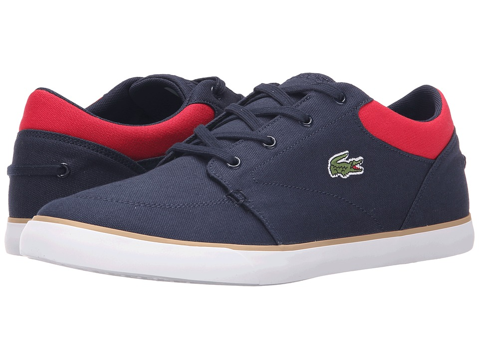 Lacoste - Bayliss 116 2 (Navy/Red) Men's Shoes