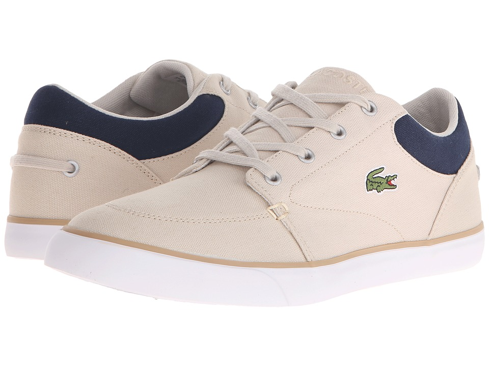Lacoste - Bayliss 116 2 (Natural/Navy) Men