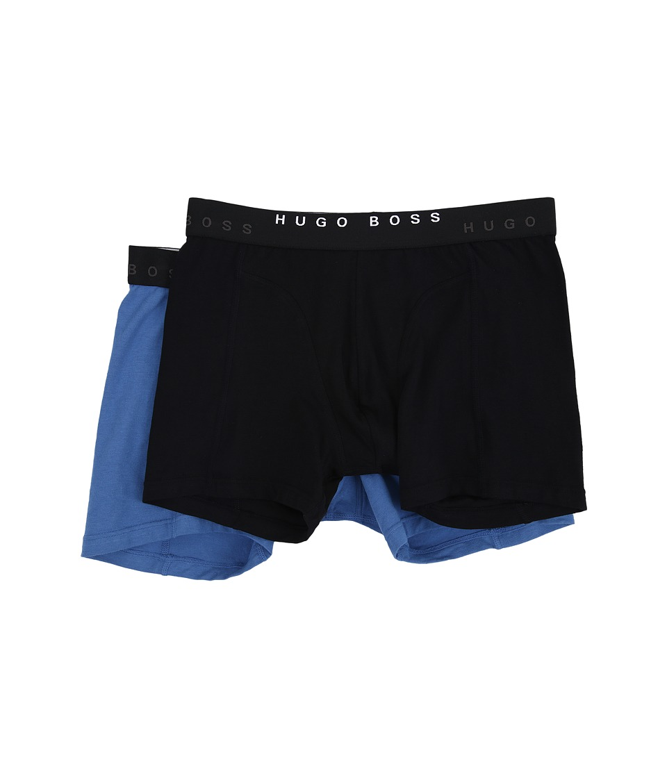 BOSS Hugo Boss - Cyclist 2-Pack (Black/Blue) Men's Underwear