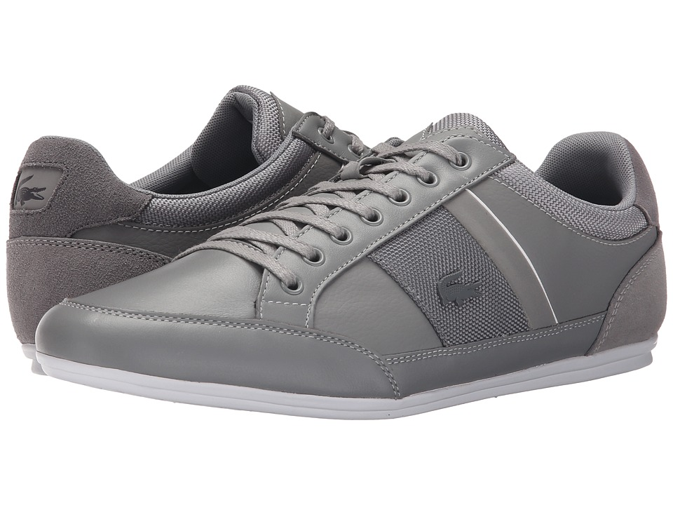 Lacoste - Chaymon 116 1 (Light Grey/Dark Grey) Men