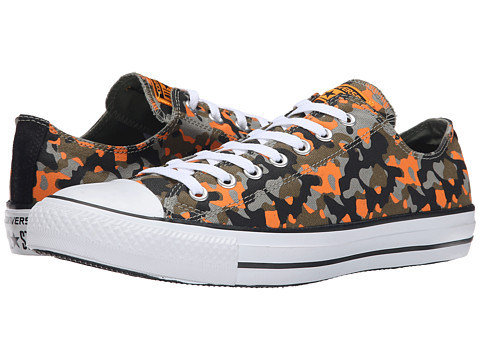 Converse - Chuck Taylor Ox (Juniper/Black/Orange) Shoes