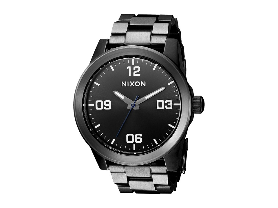 Nixon - G.I. SS (Gunmetal/Black) Analog Watches