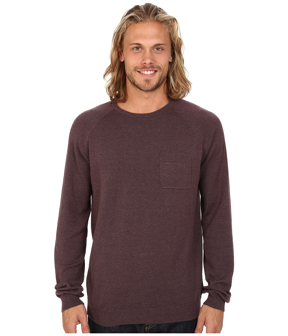 O'Neill - Presidio Sweater (Burgundy) Men's Sweater