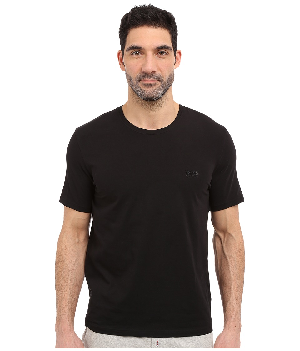 BOSS Hugo Boss - Short Sleeve Crew Basic Boss Tee (Black) Men's T Shirt