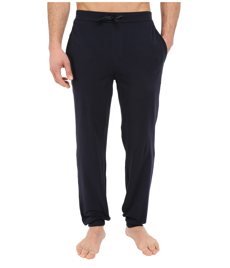BOSS Hugo Boss - Mix and Match Long Pants Cuffed (Navy) Men's Pajama