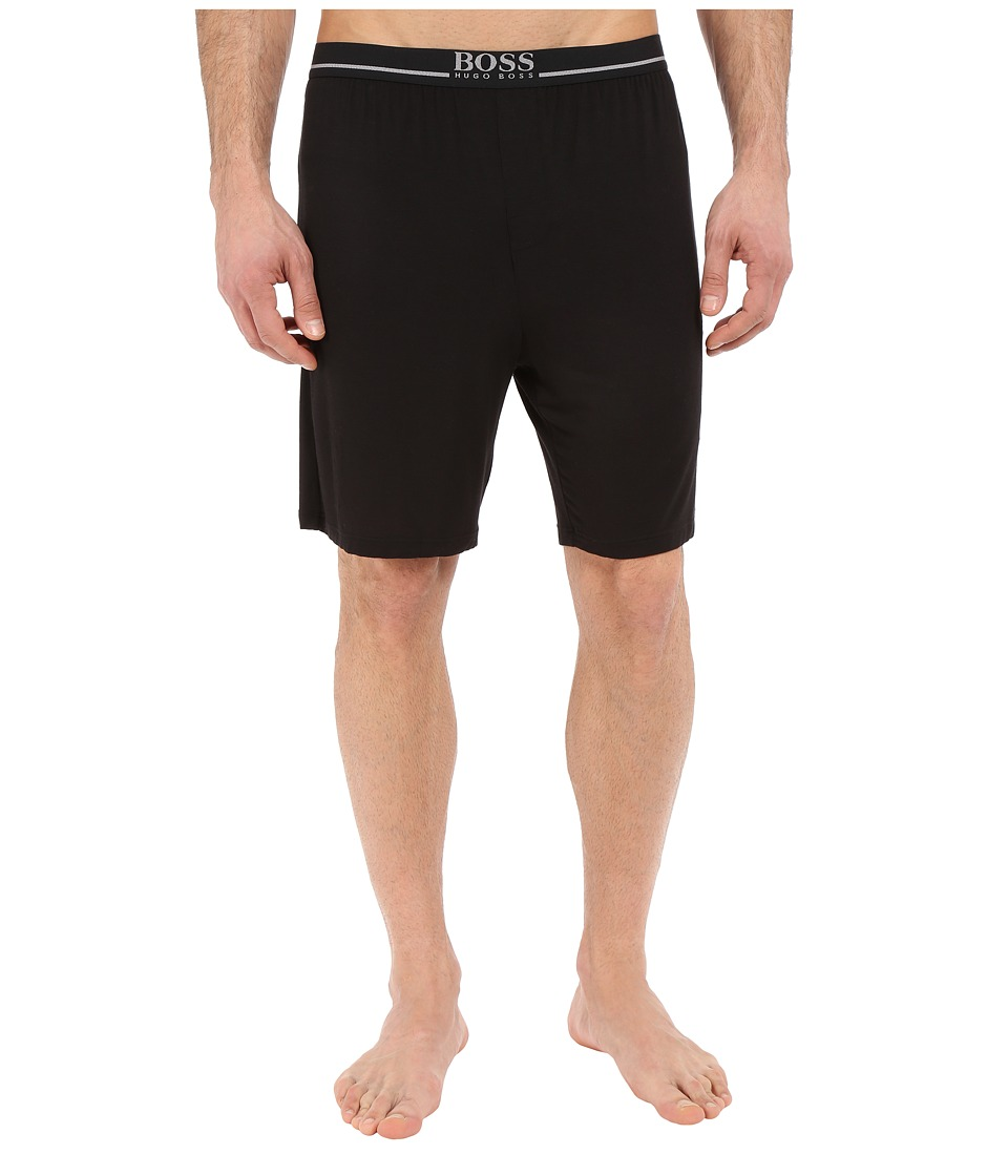 BOSS Hugo Boss - Modal Short Pants (Black) Men's Pajama