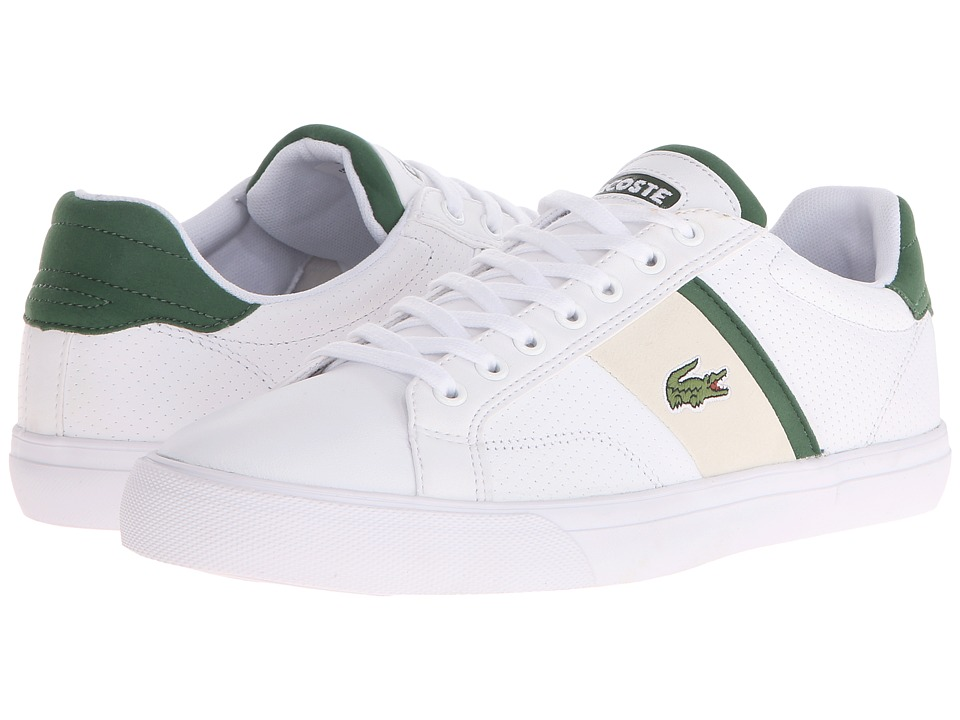Lacoste - Fairlead 116 1 (White) Men's Shoes