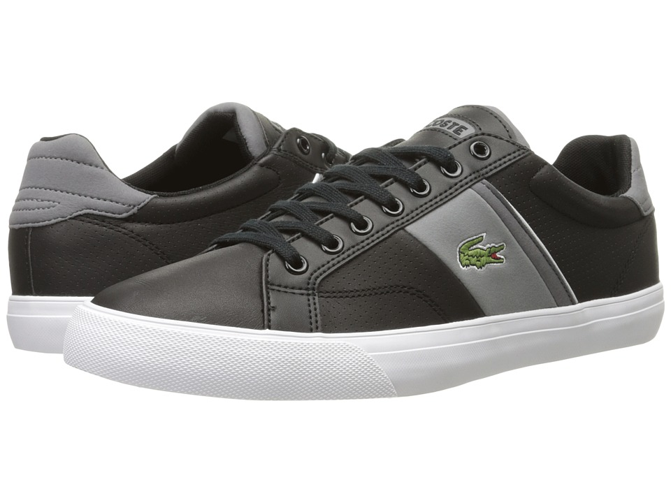 Lacoste - Fairlead 116 1 (Black) Men's Shoes