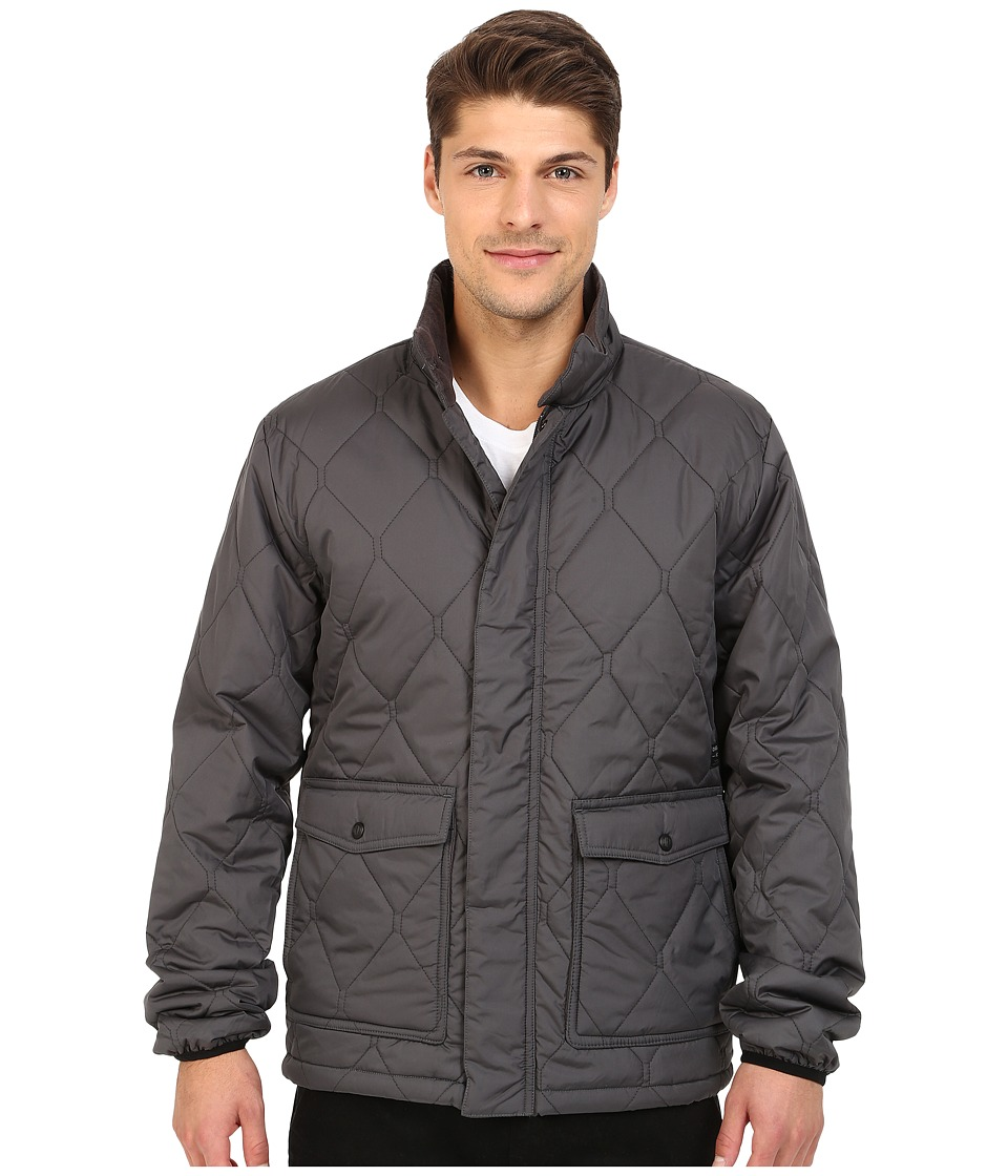 O'Neill - North Quilted Puff Jacket (Asphalt) Men's Coat