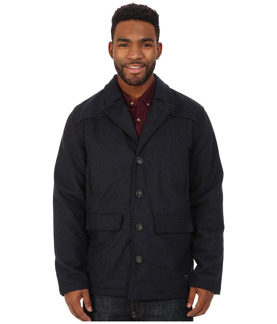 O'Neill - Mariner Peacoat (Dark Navy) Men's Coat
