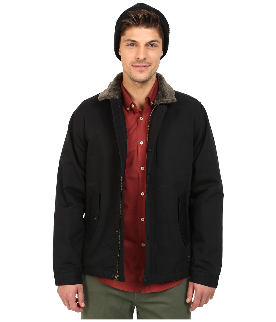 O'Neill - Burman Deck Jacket (Black) Men's Coat