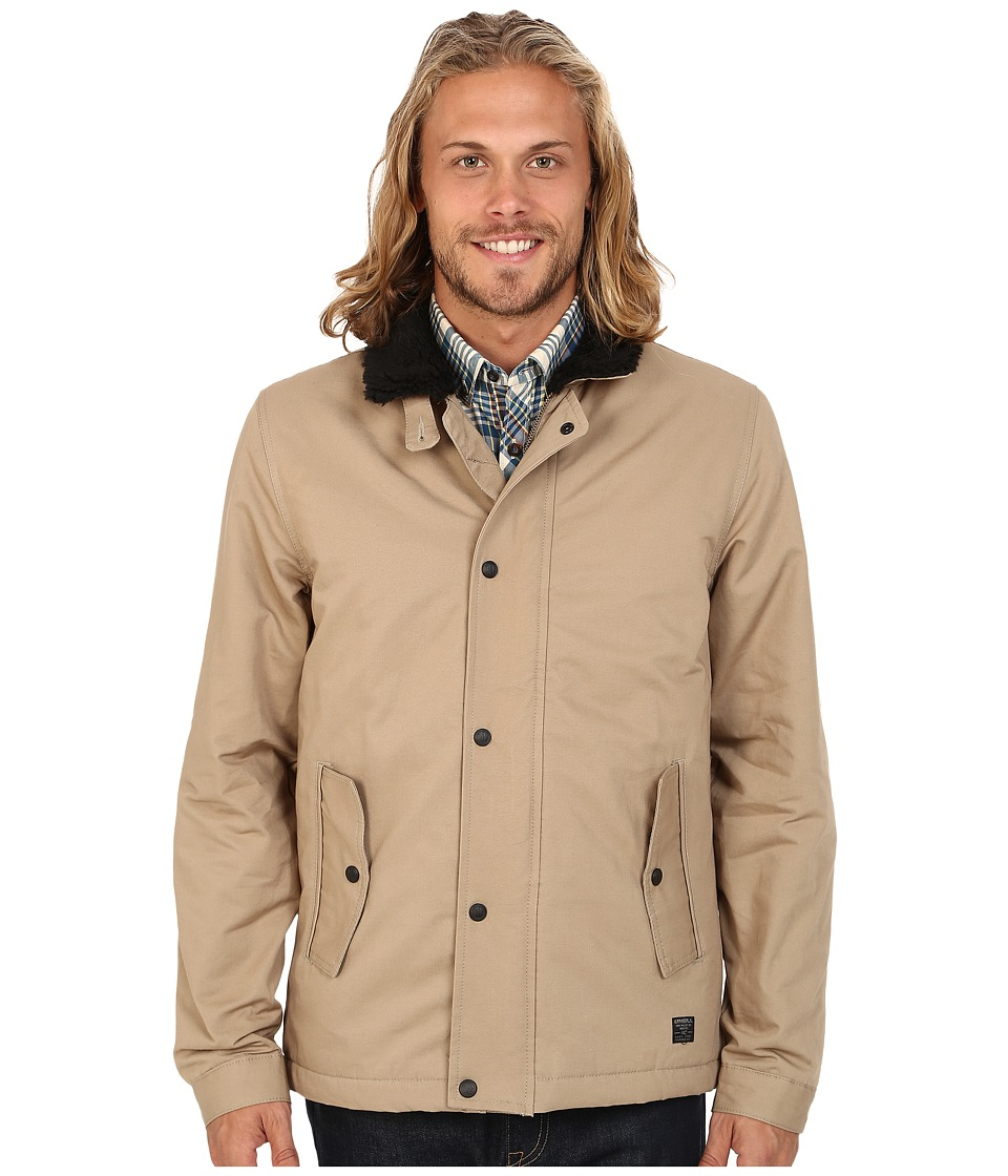 O'Neill - Burman Deck Jacket (Khaki) Men's Coat