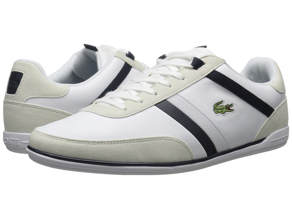 Lacoste - Giron 116 1 (White) Men's Shoes