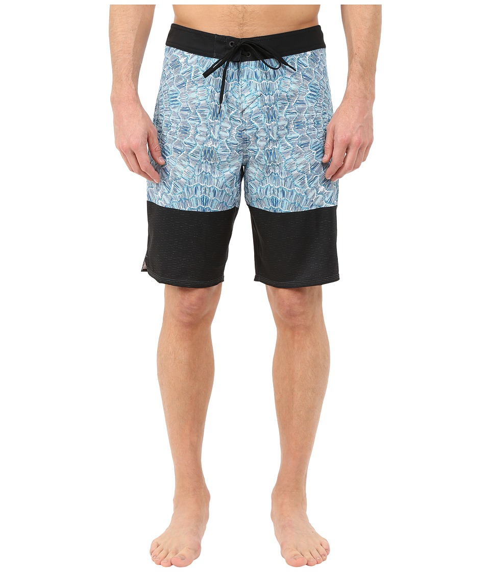 O'Neill - Fractured Boardshorts (Bright Blue) Men's Swimwear