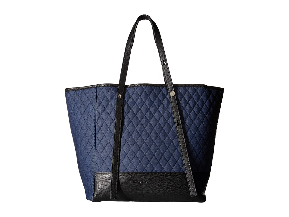 See by Chloe - Quilted Chambra Tote (Denim) Tote Handbags