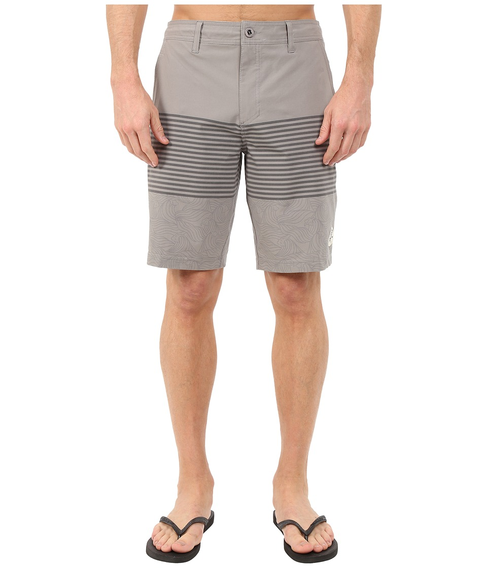 O'Neill - Oasis Hybrid Shorts (Charcoal) Men's Swimwear