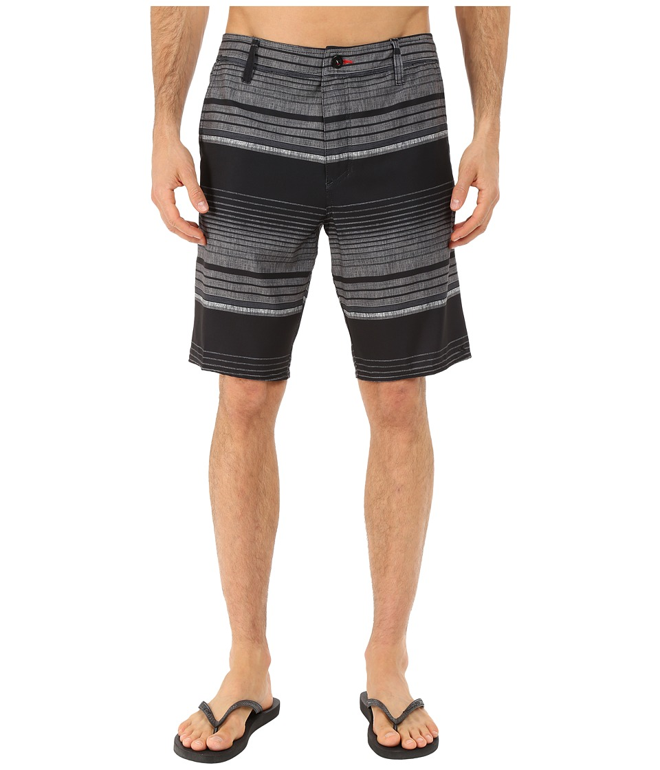 O'Neill - Port Hybrid Shorts (Black) Men's Swimwear