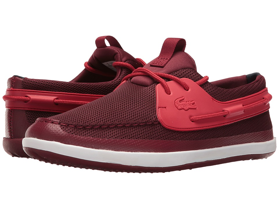 Lacoste - Landsailing 116 1 (Dark Red/Red) Men's Shoes