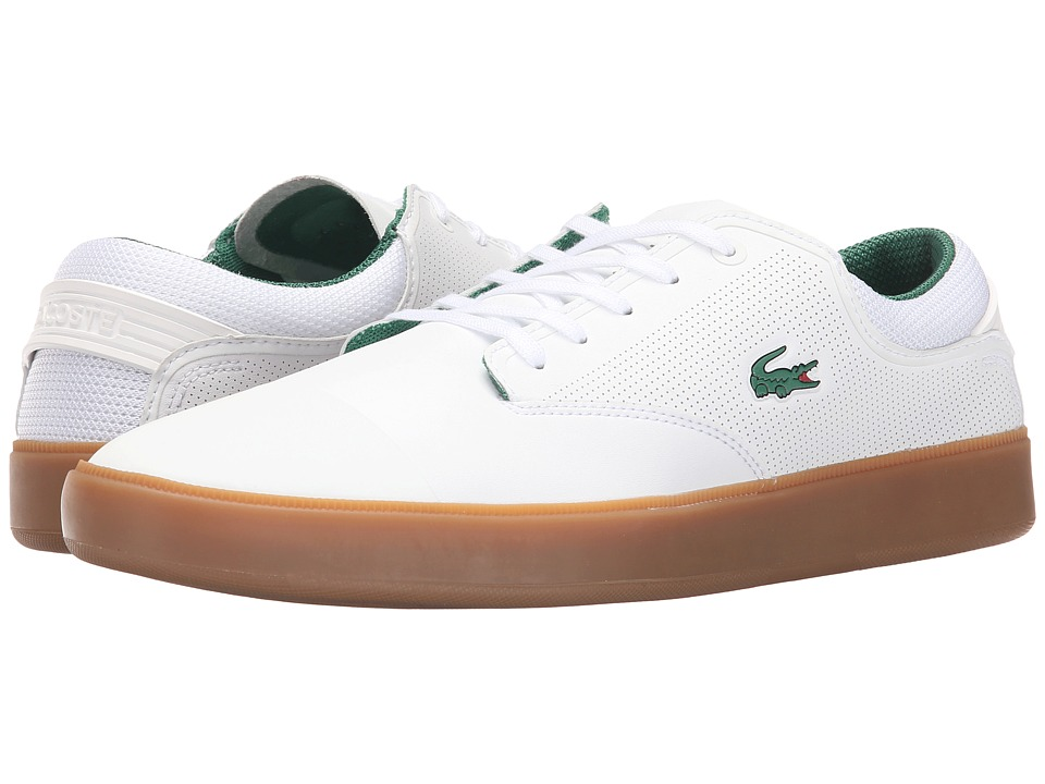 Lacoste - L.IFTE 116 2 (White/Dark Green) Men