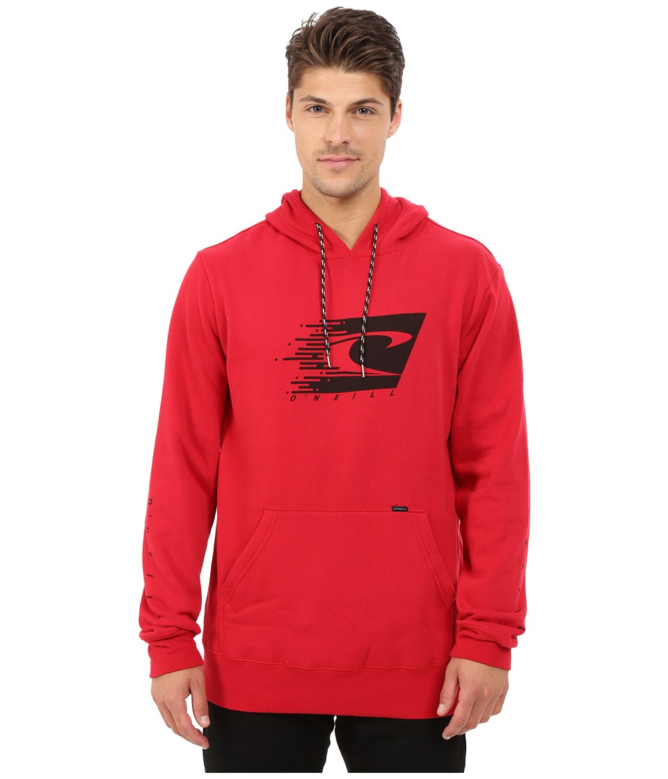 O'Neill - Speed Blur Pullover Fleece Hoodie (Chili Pepper) Men's Sweatshirt