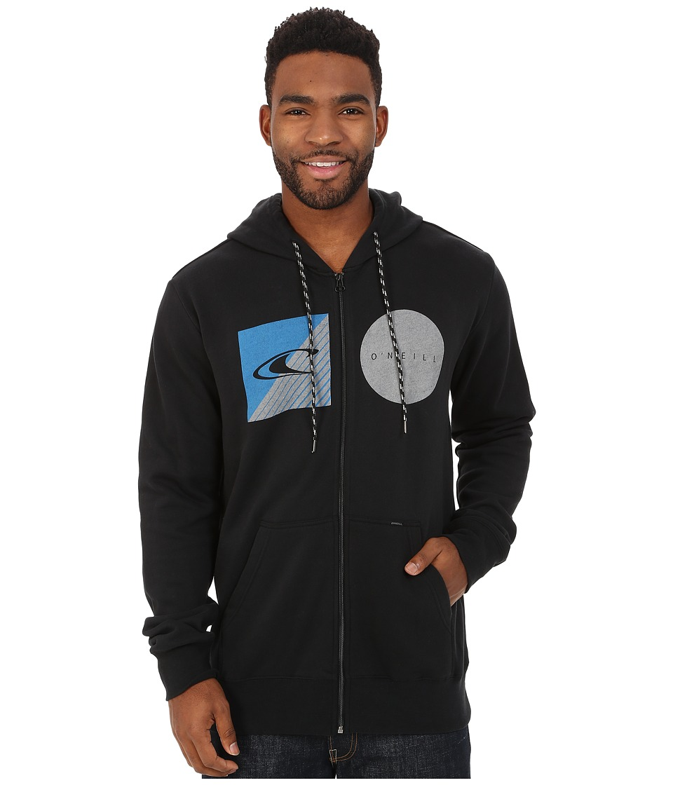 O'Neill - Standard Fleece Hoodie (Black) Men's Sweatshirt