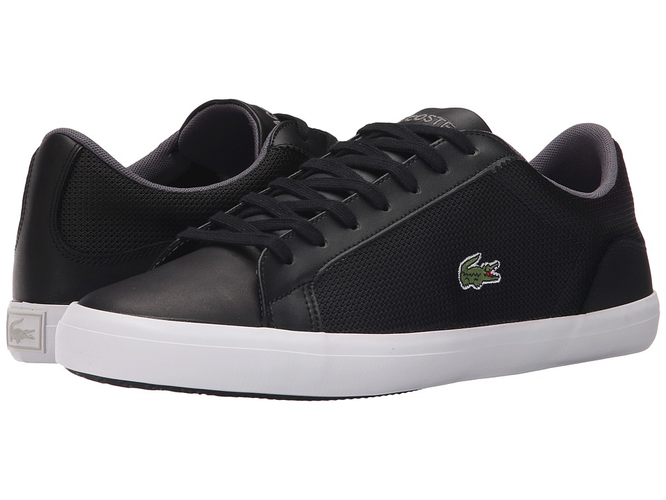Lacoste - Lerond 116 1 (Black) Men's Shoes