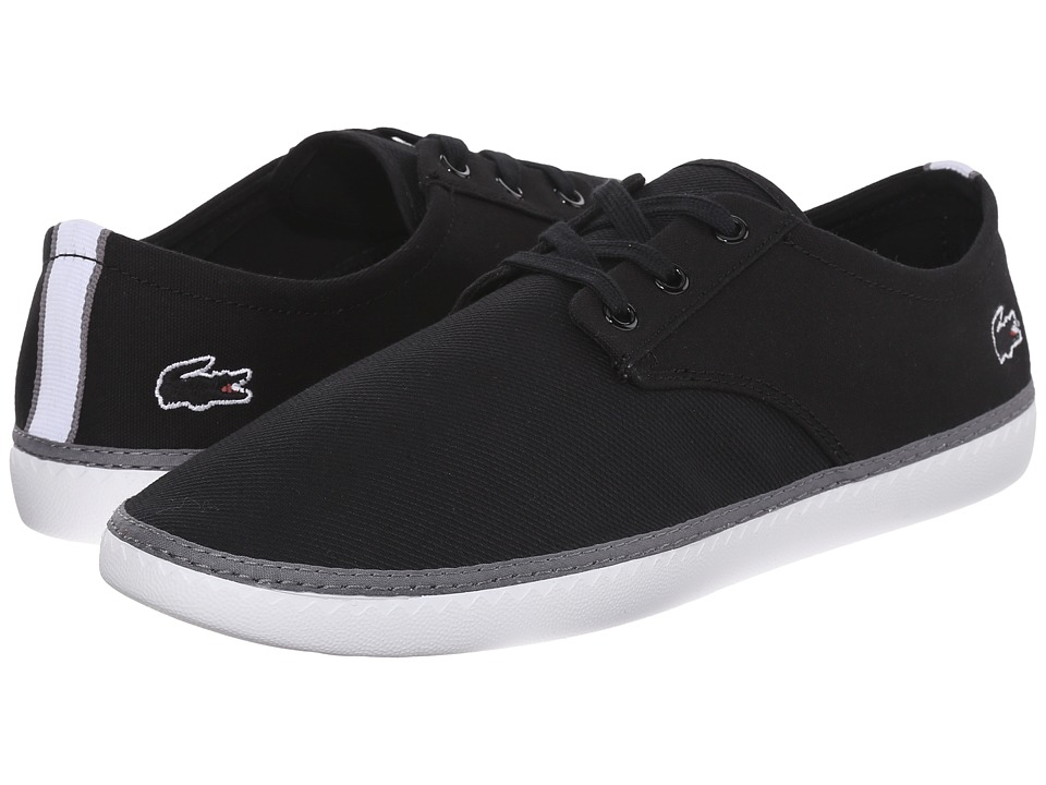 Lacoste - Malahini Deck 116 1 (Black) Men's Shoes