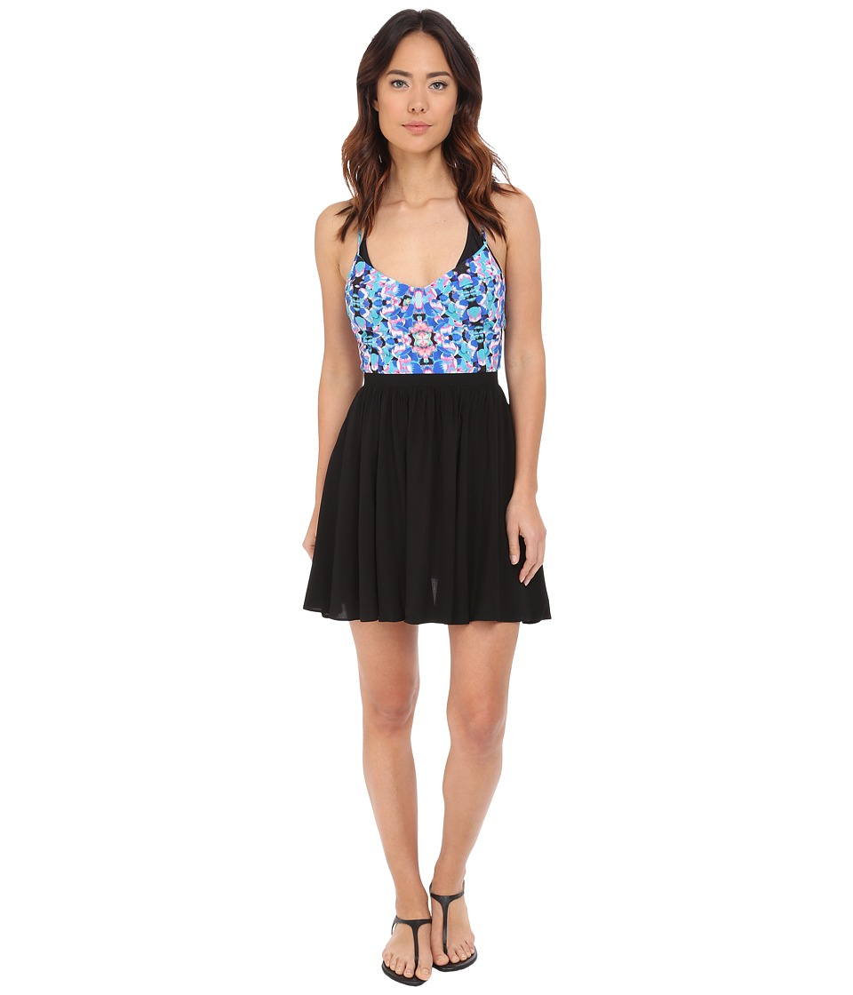 6 Shore Road by Pooja - Sand Bar Mini Dress Cover-Up (Pacific Floral) Women's Dress