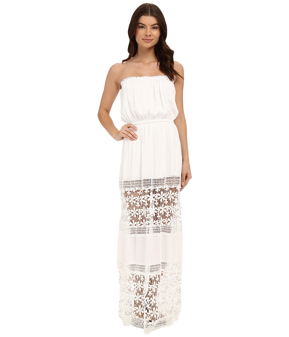 6 Shore Road by Pooja - Charlotte Maxi Dress Cover-Up (Moonlight White) Women's Swimwear