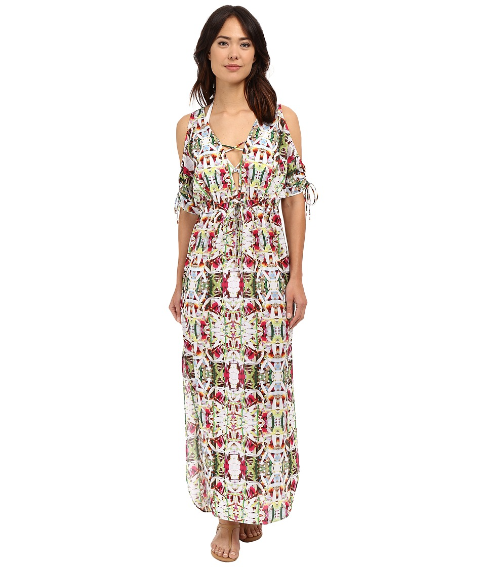 6 Shore Road by Pooja - Jungle Cover-Up (Rainforest Floral) Women's Swimwear