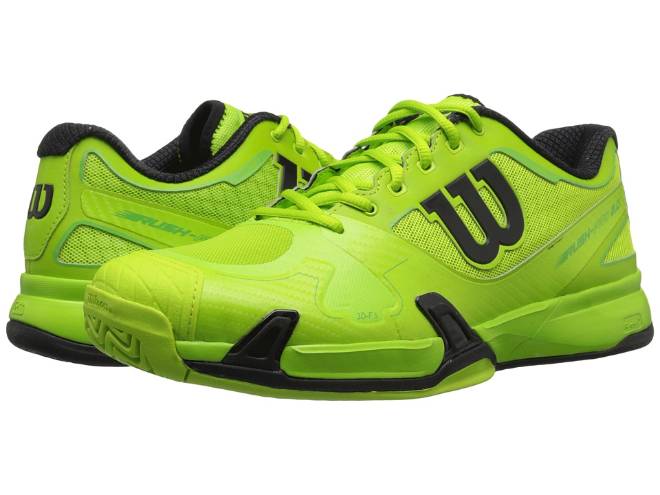 Wilson - Rush Pro 2.0 (Green/Black) Men's Tennis Shoes