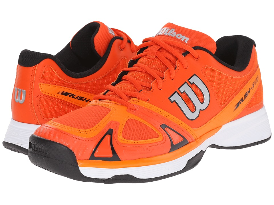 Wilson - Rush Evo (Red/Clementine/Black) Men's Tennis Shoes