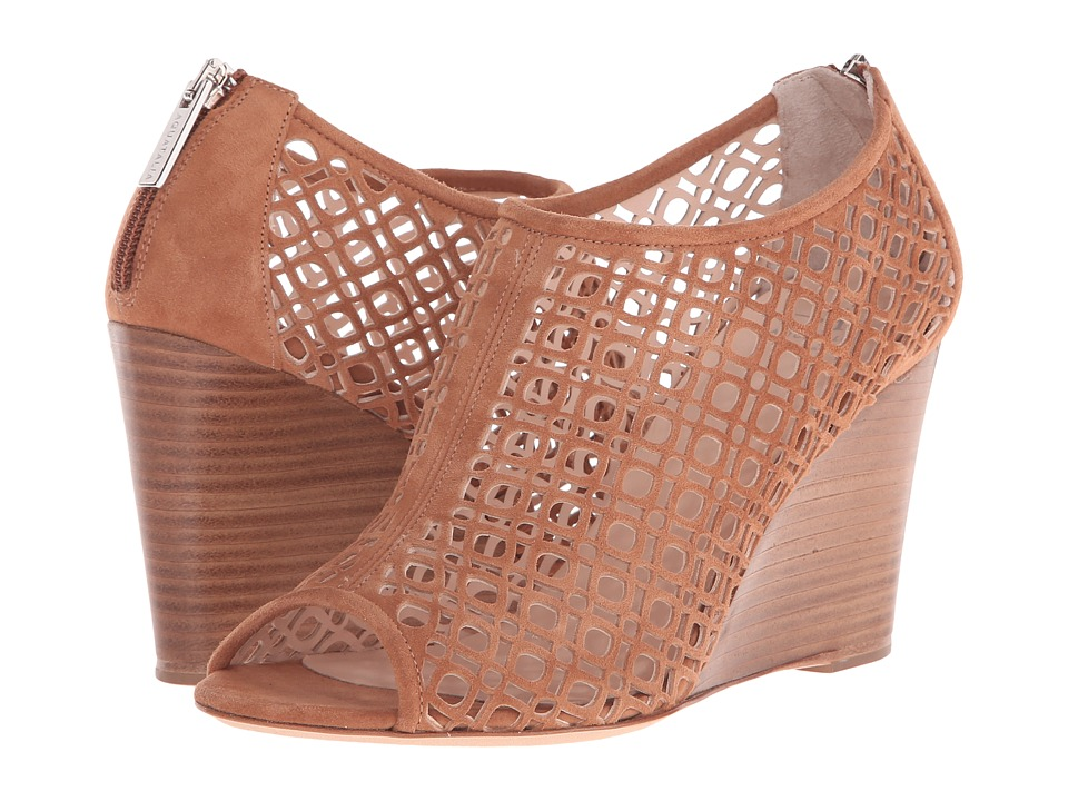 Aquatalia - Shelly (Bark Suede) Women's Wedge Shoes