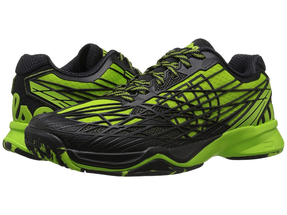 Wilson - Kaos (Green/Black) Men's Tennis Shoes