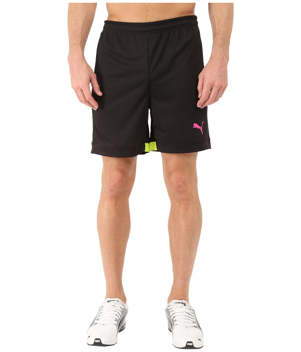 PUMA - IT Evotrg Shorts (Black/Safety Yellow) Men's Shorts