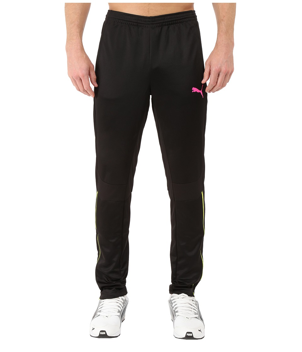PUMA - IT Evotrg Pants (Black/Pink Glo) Men's Clothing