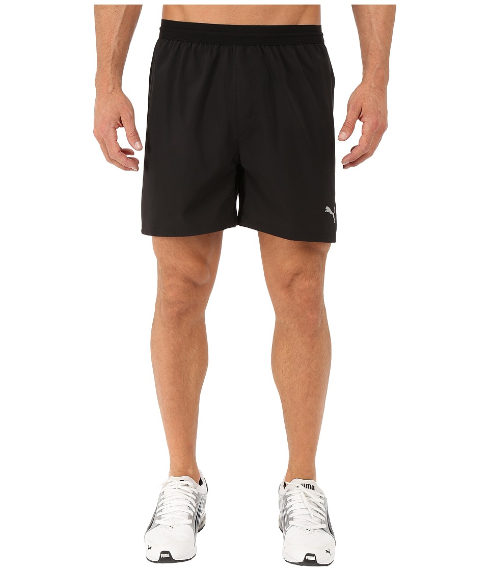 PUMA - Pace 5 Shorts (Black) Men's Shorts