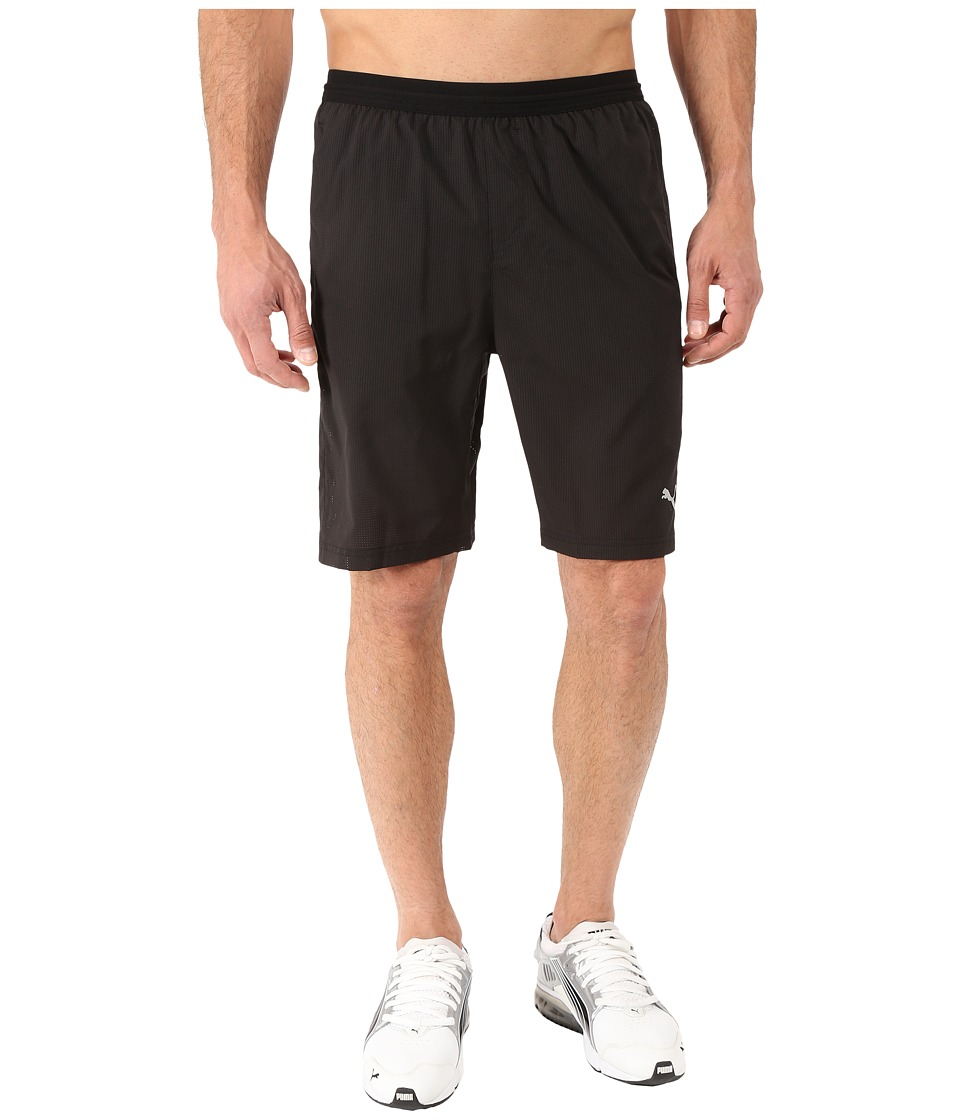 PUMA - Pwrcool 9 Shorts (Black) Men's Shorts