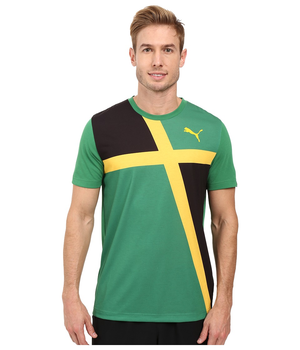 PUMA - Fan Wow Tee (Amazon - Jamaica) Men's T Shirt