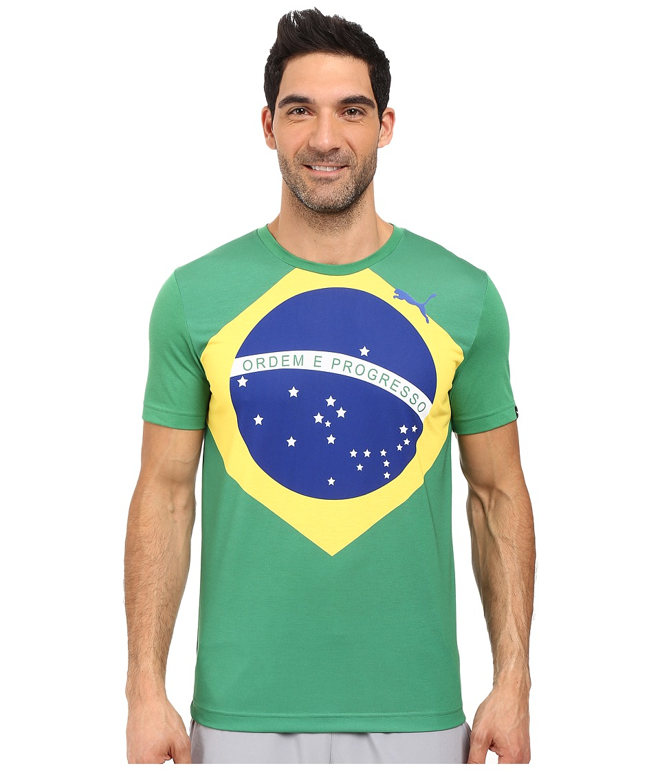 PUMA - Fan Wow Tee (Amazon - Brazil) Men's T Shirt