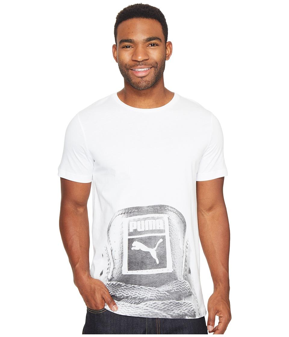 PUMA - Sneaker Tee 3 (White) Men's T Shirt