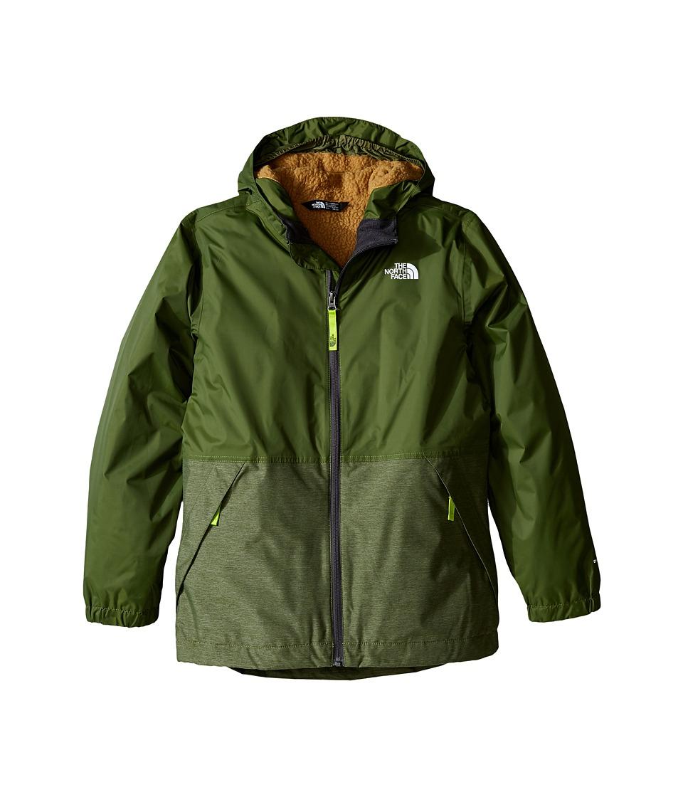 The North Face Kids - Warm Storm Jacket (Little Kids/Big Kids) (Terrarium Green) Boy's Coat