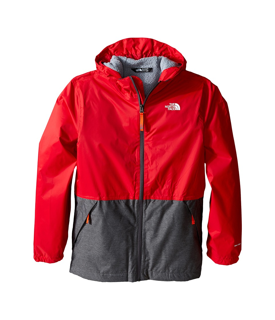 The North Face Kids - Warm Storm Jacket (Little Kids/Big Kids) (TNF Red) Boy's Coat