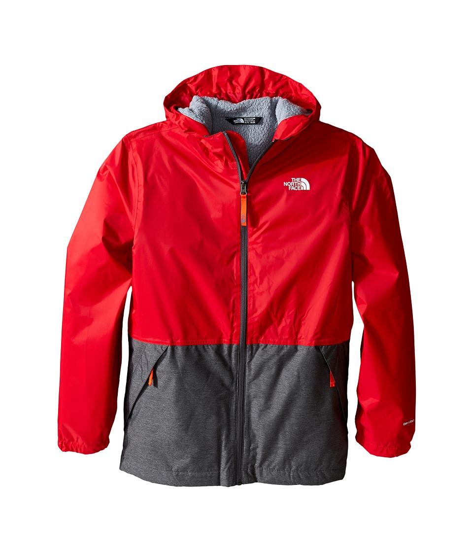 The North Face Kids - Warm Storm Jacket (Little Kids/Big Kids) (TNF Red) Boy's Coat