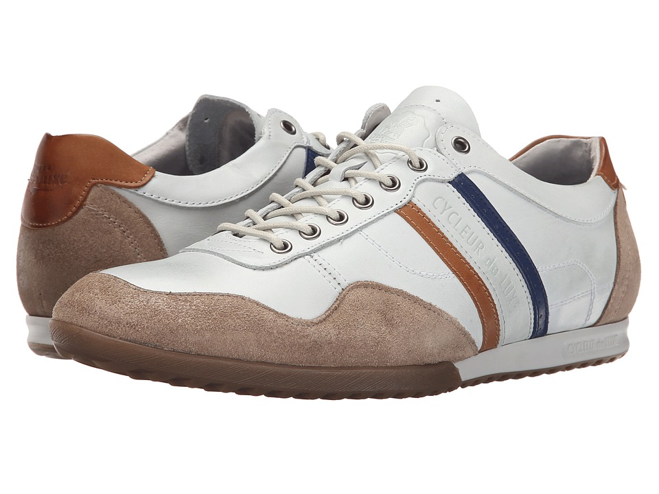 Cycleur de Luxe - Crash (Sand/Off-White/Cogna/Navy) Men's Shoes