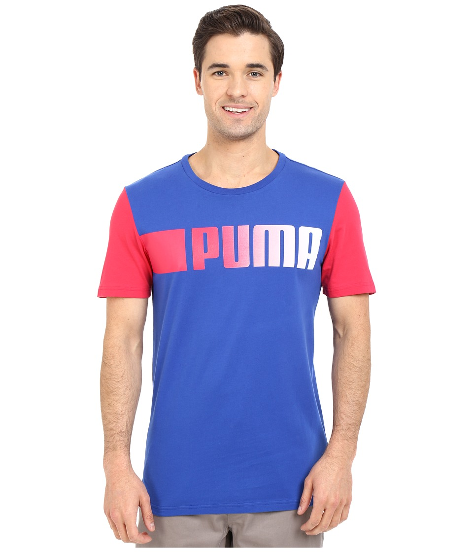 PUMA - Running Logo Tee (Surf The Web) Men's T Shirt