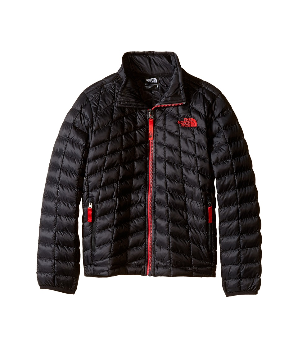 The North Face Kids - Thermoball Full Zip Jacket (Little Kids/Big Kids) (TNF Black/TNF Red) Boy's Coat