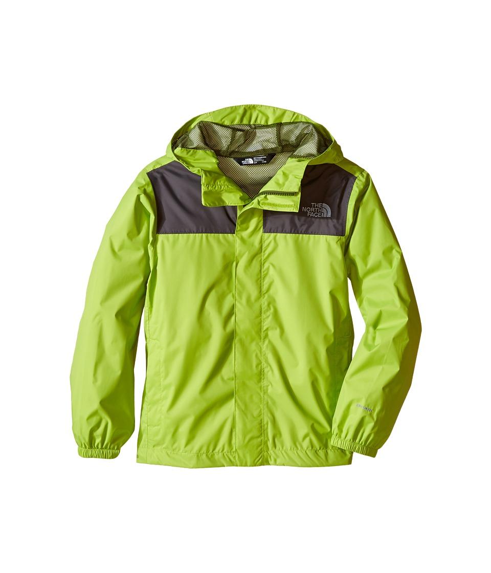 The North Face Kids - Zipline Rain Jacket (Little Kids/Big Kids) (Chive Green) Boy's Coat