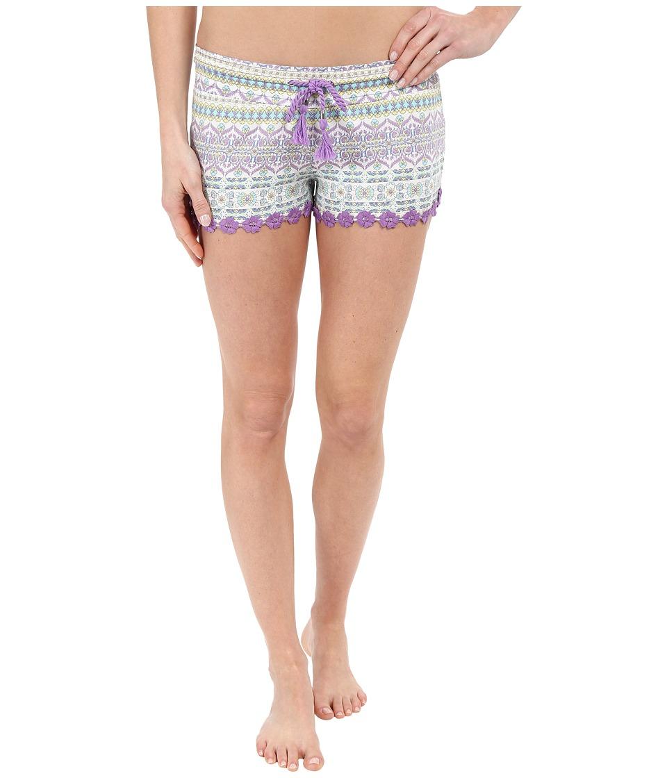 P.J. Salvage - Boho Beauty Shorts (Mint) Women's Pajama